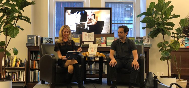 Rizzoli Bookstore Book Signing & Reading of Hamlet, The Algonquin Cat