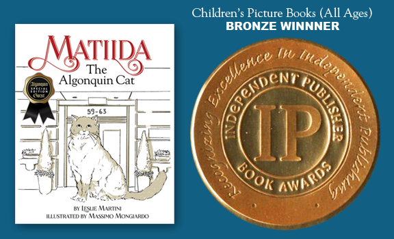 Matilda, The Algonquin Cat an IPPY Award Winning Book